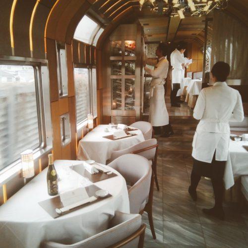 豪華TRAIN SUITE 四季島の素晴らしいサービス