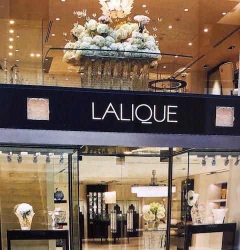 LALIQUE旗艦店がリニューアル・オープン